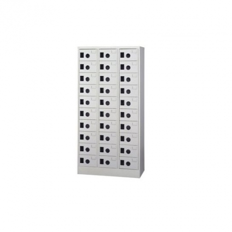 【鋼製鞋櫃-W89cm】30小格有門鋼製鞋櫃