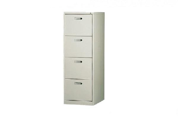 【OA鐵櫃】四抽 B4耐重型直立式公文櫃