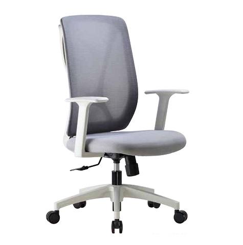 【辦公椅 】1806W 時尚白框職員椅