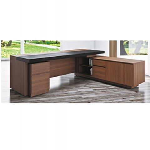 【高質感 】EPIC 木製主管桌