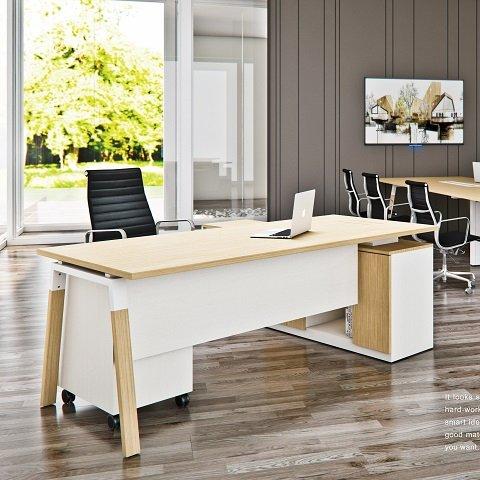 【現代風】HJ-181 梅里格主管桌