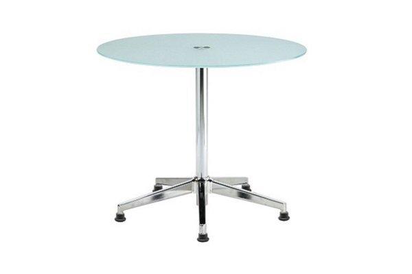 【洽談桌 】霧面玻璃洽談桌