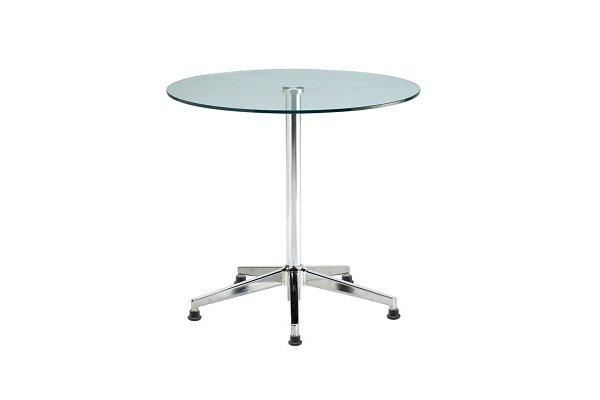 【洽談桌 】清玻璃面玻璃洽談桌