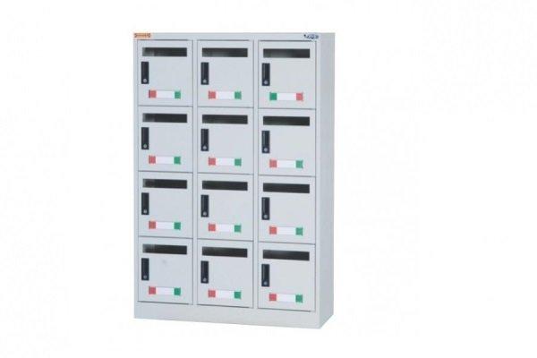 【信箱櫃】12格鋼製信箱櫃