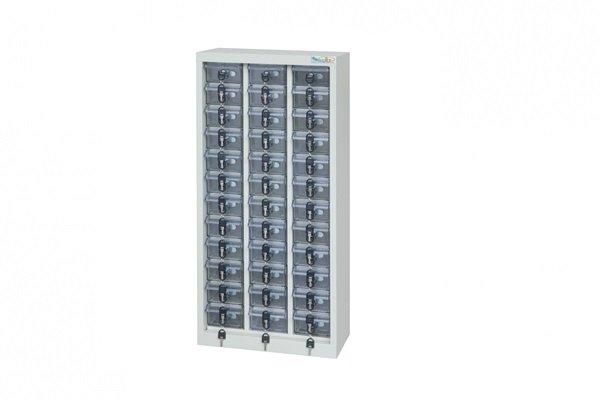 【手機櫃、小型上鎖置物櫃、重要零件櫃】36格手機櫃