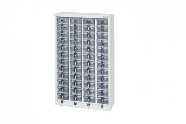 【手機櫃、小型上鎖置物櫃、重要零件櫃】48格手機櫃