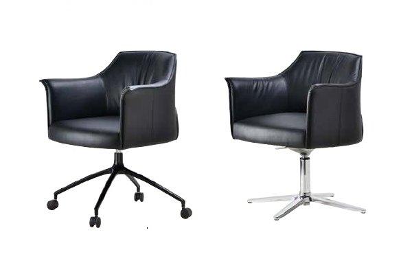 【高級會議椅 】EX-C1814-AB 高級會議皮椅