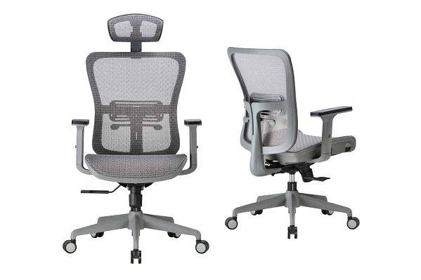 【辦公椅 】1807G 工業灰框職員椅