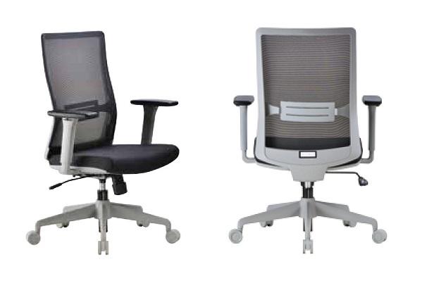 【辦公椅 】1808G 工業灰框職員椅