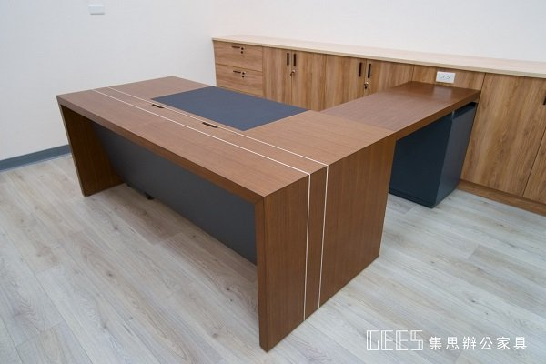 【雙色質感 】EX-6583E 木製主管桌