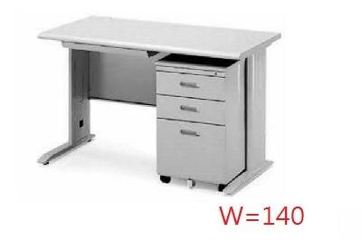 【鋼製辦公桌 】CD辦公桌套餐組-140