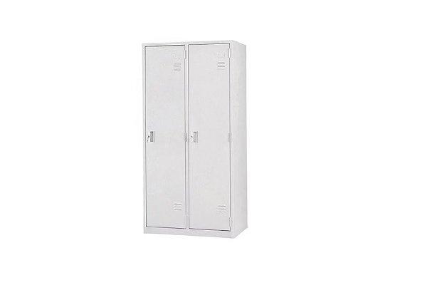 【置物衣櫃 】2人鋼製衣櫃、鋼製置物衣櫃