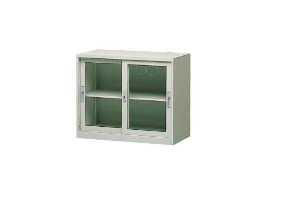 【U型櫃】CG-2 玻璃加框二層拉門理想櫃