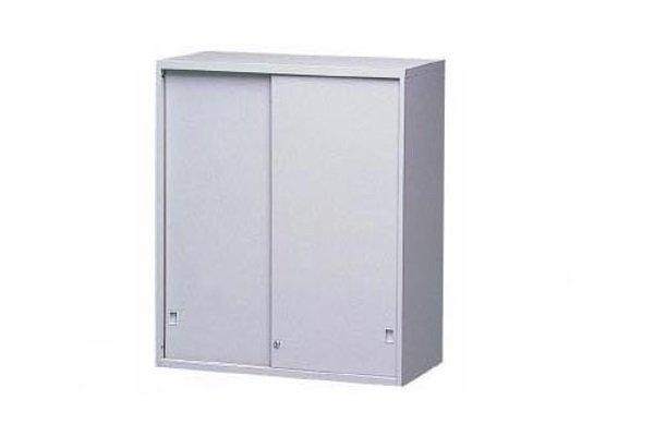【A型櫃】AS-3U 鐵拉門上置式鋼製公文櫃