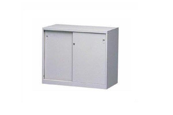 【A型櫃】AS-2B 鐵拉門下置式鋼製公文櫃
