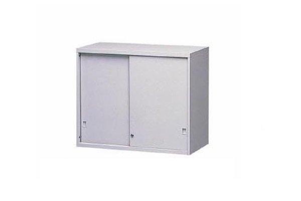 【A型櫃】AS-2U 鐵拉門上置式鋼製公文櫃