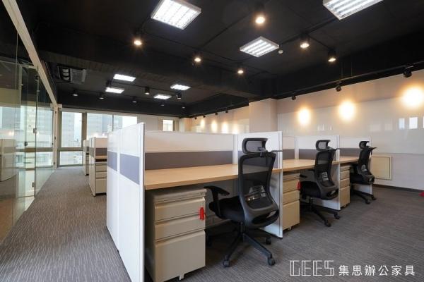 職員區空間-屏風工作站案例